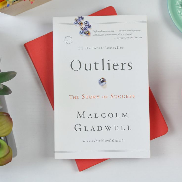 outliers by malcolm gladwell on achieving success and making a change Posts about malcolm gladwell written by larisa  that this fast decision making can get us into trouble  cover of outliers: the story of success.