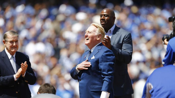 Dodgers News: Vin Scully Wins 2016 Award for Best Call of the Year | Dodgers Nation