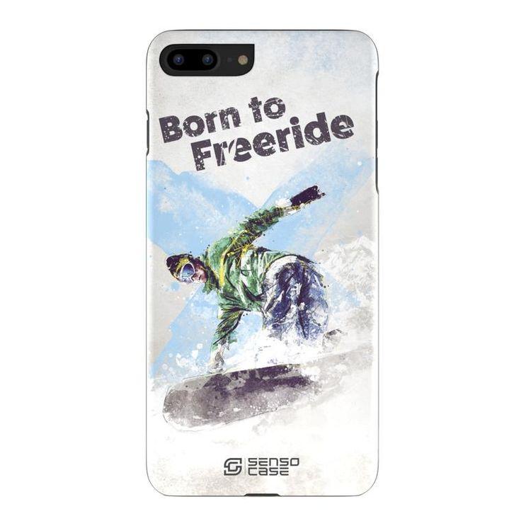 Snowboarding iPhone 7 Plus Sport Case Cover