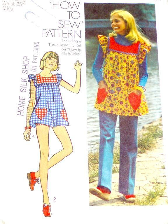 Smock tops...oh how I loved these in the 70's!!