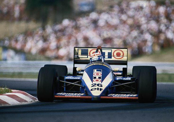 1986 - Hungary - Ligier - Philippe Alliot