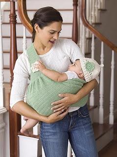 Crocheted sling.... sooooo cool!!