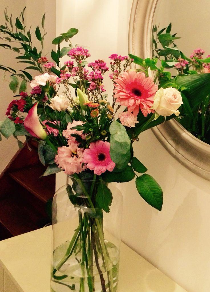 Pink flowers by www.Bloomon.nl