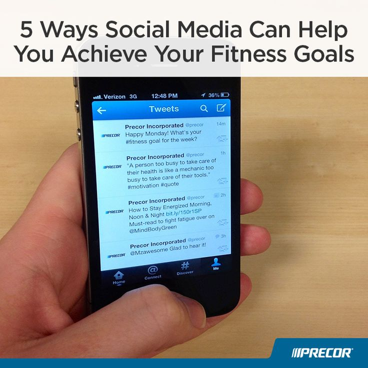5 Ways Social Media Can Help You Achieve Your Fitness Goals