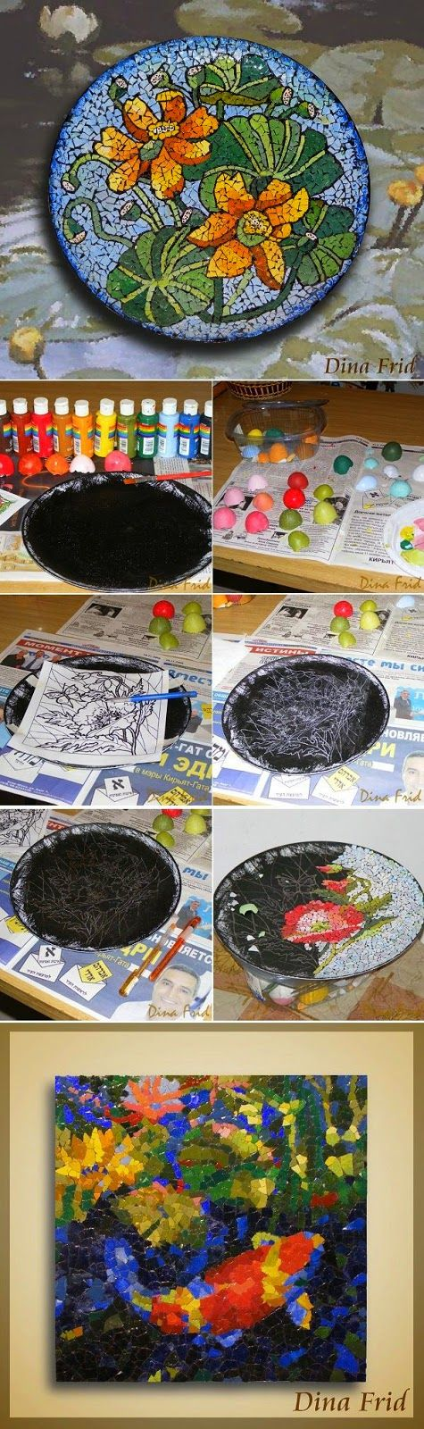 Eggshell Mosaic Patterns