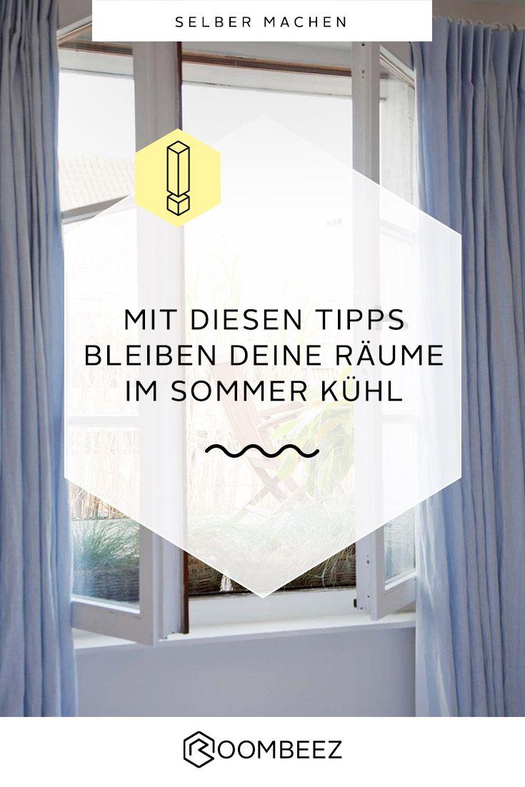 Raum kühlen » So bleibt die Wohnung im Sommer kühl (mit