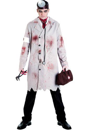 Grim Doctor Costume - Mens Costumes