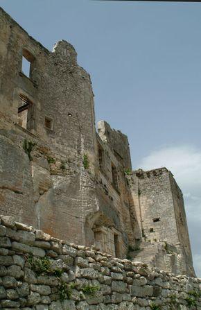 Marquis de Sade castle, Bonnieux, France