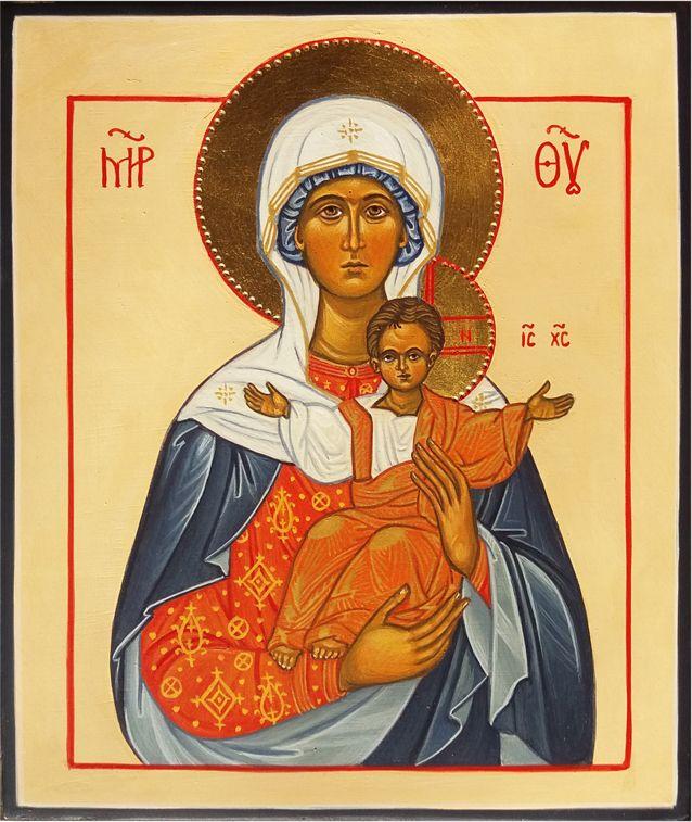 Moeder Gods Leushinskaja