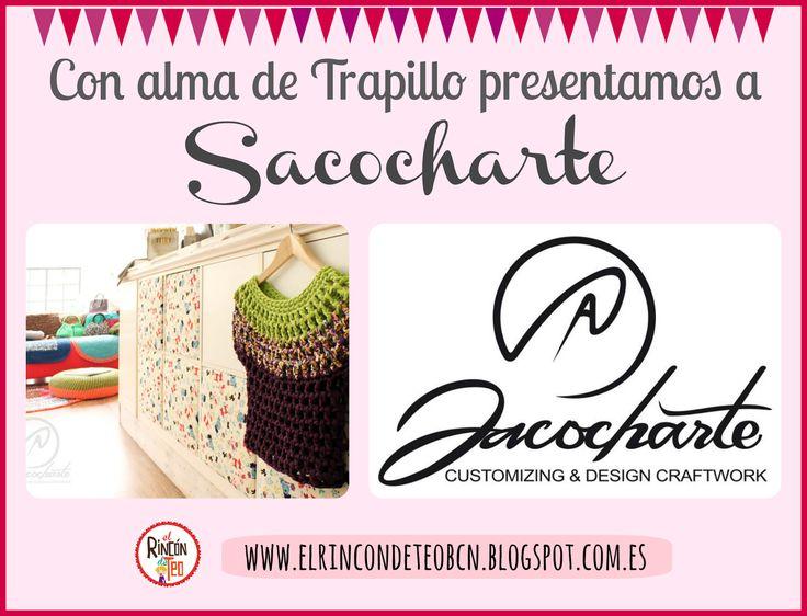Hola!! Hoy el Blog va de entrevista a #sacocharte!! Si te gusta el Trapillo no te lo puedes perder!! Además viene con SORPRESA incluida!! Aprovecha!! CLICKA AQUI http://goo.gl/Oe39la #trapillo #ganchillo #crochet #ganchilloxxl #crochetxxl #tiendatrapillo #handmade #hechoamano #hazlotumismo #diy