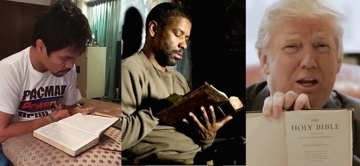 These ten celebrities say that their favourite book is the Holy Bible!