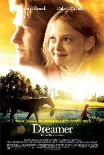 Dreamer starring Kurt Russell, Dakota Fanning, Elisabeth Shue, Kris Kristofferson, David Morse, Freddy Rodriguez, Luis Guzman, Oded Fehr, Ken Howard....this movie was filmed about 15 miles from where I live at an aquaintance's house....Mr. Norel Tate has passed away since the movie was filmed at his house.  His widow just sold it.