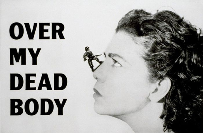 Mona Hatoum: Over my Dead Body, 2005 | Like and Mention