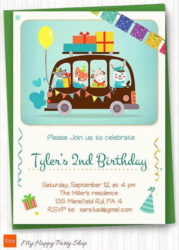 110 Best Kids Birthday Invitation Images