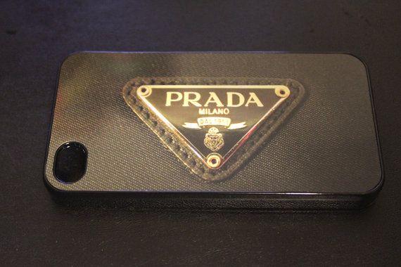 Prada phone case hard iphone5 or iphone4 Prada by CaseShoppe, $15.99