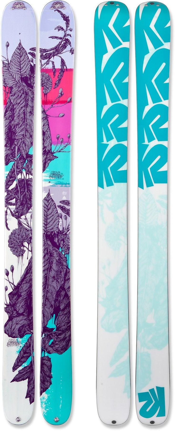 K2 MissDirected Skis - Women's. These are beautiful!!!