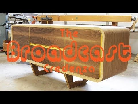 Building a MODERN Credenza -- Shaun Boyd Made This - YouTube