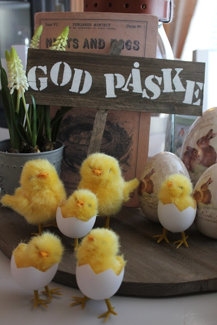 "Happy Easter or ""God Påske"" as we say in Danish!"