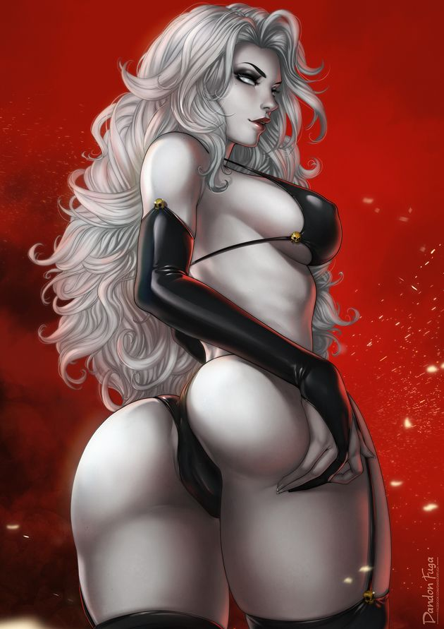 Lady Death by dandonfuga
