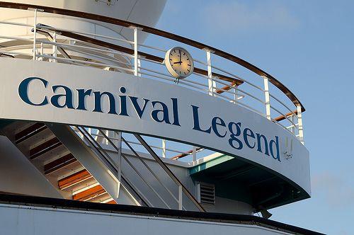 Carnival Legend...it was legendary!!!