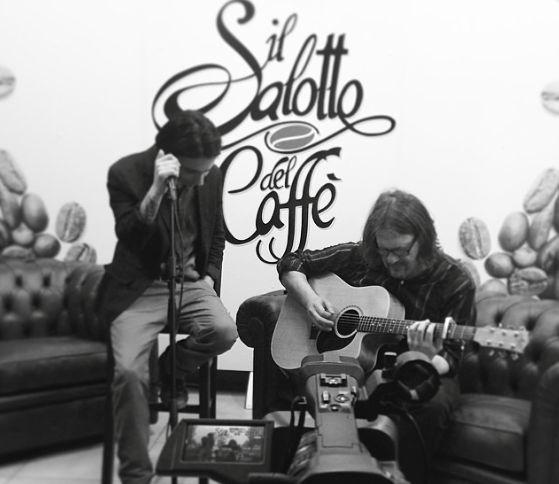 Francesco di Bella e Alfonso Bruno. Ballads Cafè al Salotto del Caffè [Intervista e showcase]