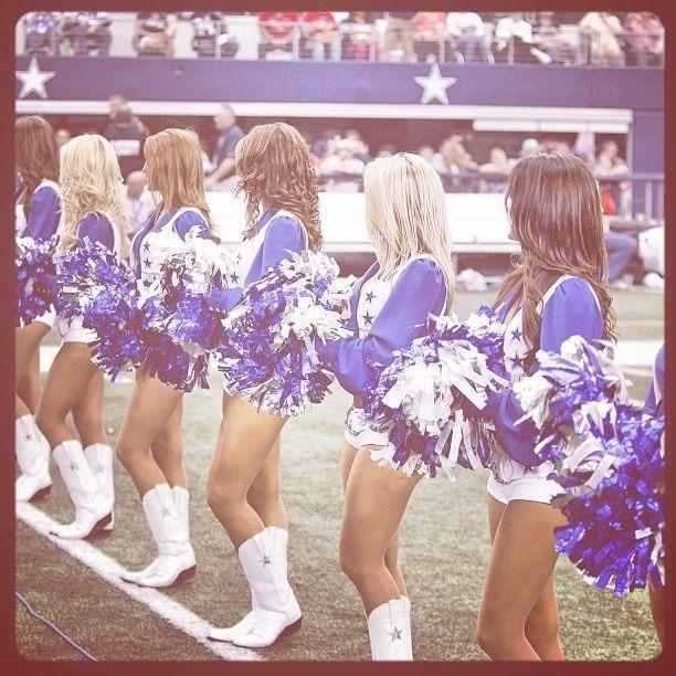 Dallas cowboys cheerleaders are my favorite
