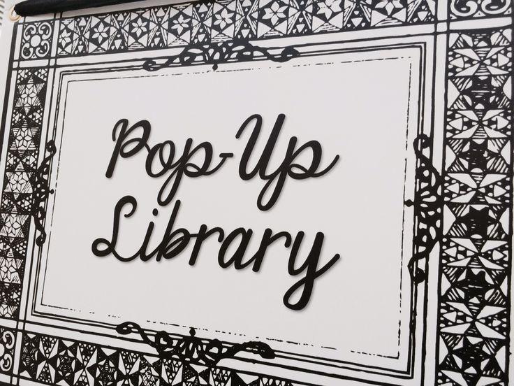 Pop-up sign