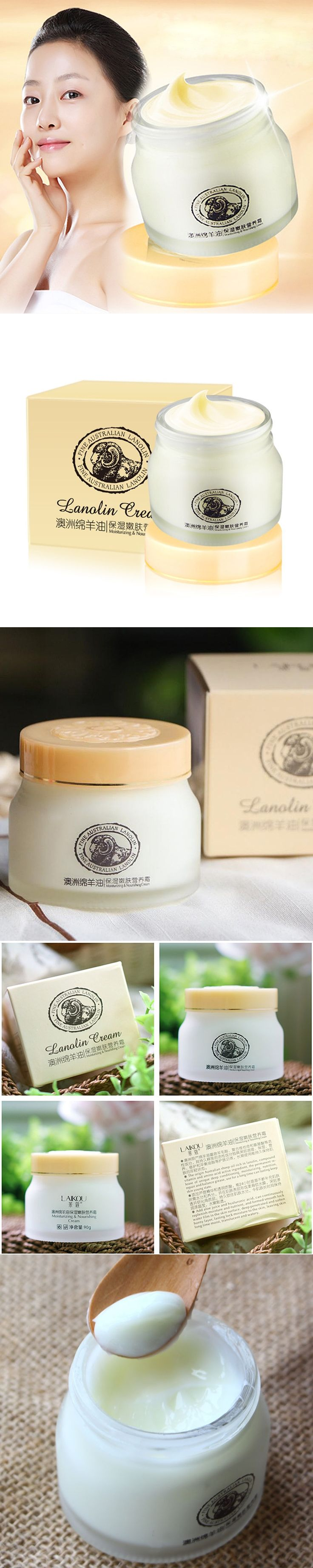 Australia Sheep Oil Lanolin Cream Whitening Anti-Aging Anti Wrinkle Moisturizing Nourish Creams Beauty Face Skin Care HB