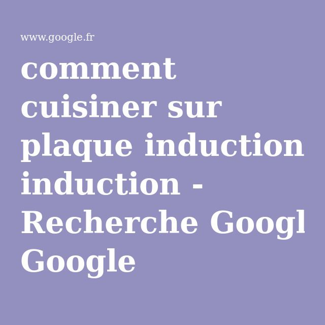 25 melhores ideias de plaque induction no pinterest placas de madeira tor - Comment fonctionne plaque induction ...