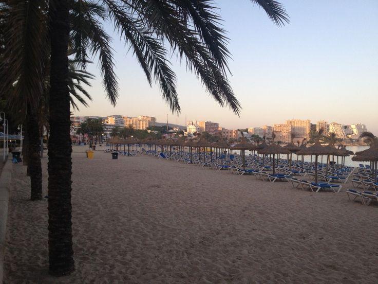 Spain: Magaluf Beach