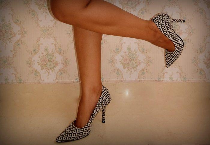 shoes, pied de poule,