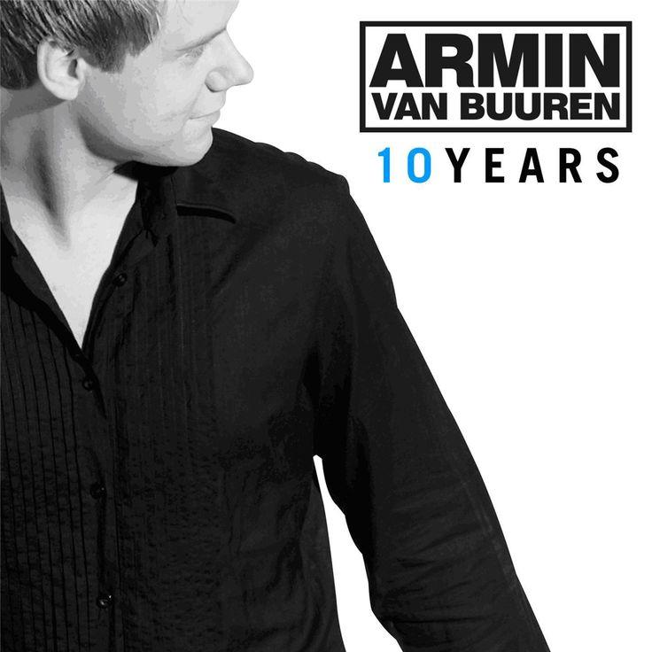 10 Years, Armin van Buuren (Arma072) #ArminvanBuuren #Armada #ArmadaMusic #CDCovers #CDDesign #LikeableDesign (november 2006) http://www.discogs.com/Armin-van-Buuren-10-Years/release/828528