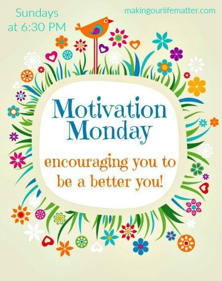 Welcome to a new week of Motivation Monday! Last week, 430 links were shared at Motivation Monday. That's pretty amazing. Be sure to bookmark this blog so you can link up each week! You can also join the mailing list so you don't miss a single Motivation Monday post. Motivation Monday is all about inspirational...Read More »