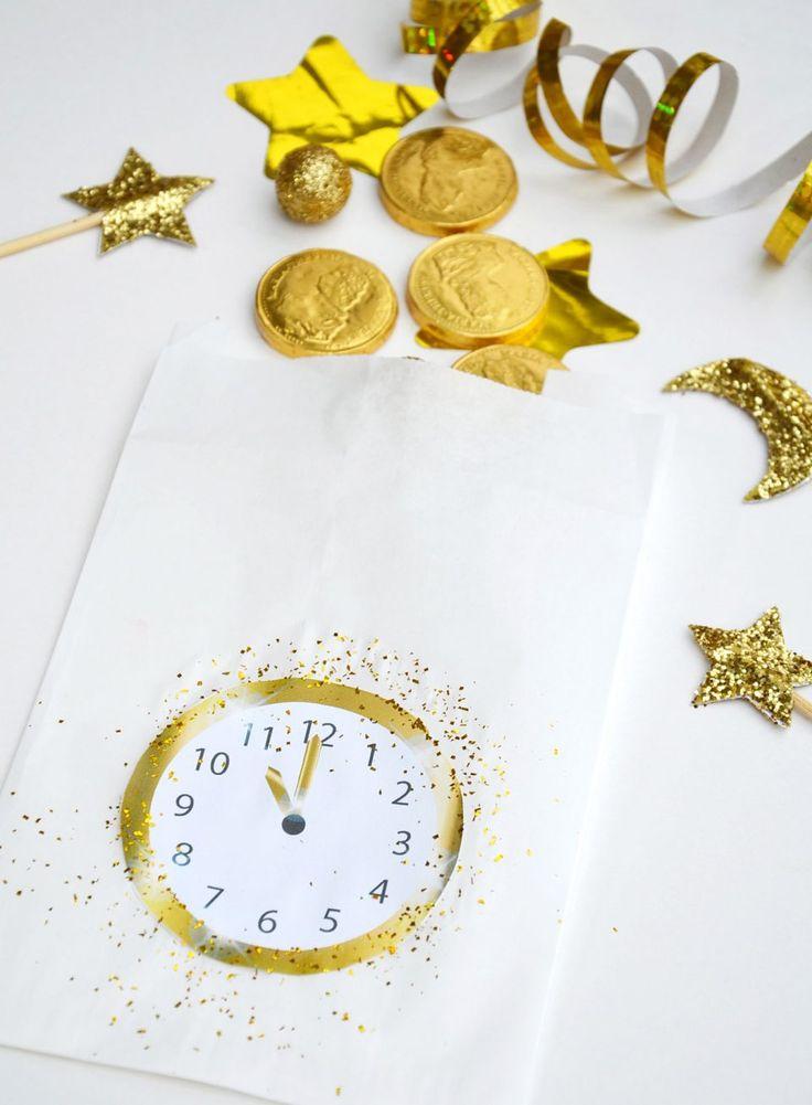 silvester countdown uhr zum ausdrucken basteln und blog. Black Bedroom Furniture Sets. Home Design Ideas