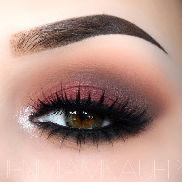 red and brown look, you can achieve this with Saucebox Batalash, Etude or Melt Dark Matter