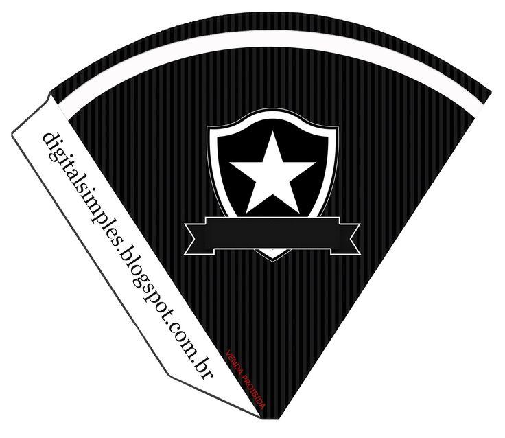 cone+para+guloseimas+futebol+time+Botafogo+300+21%2C5x18.jpg (1600×1387)