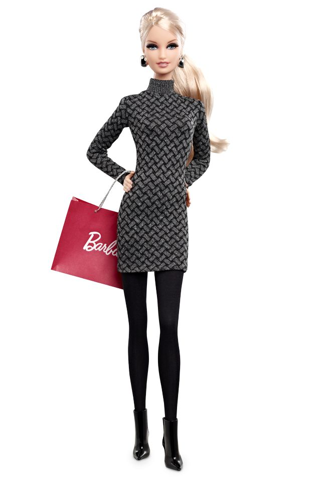A city girl knows how to look chic on-the-go! The City Shopper Barbie Doll. $24.95