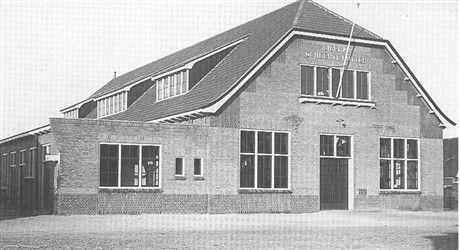 Eierhal, geopend op 30 oktober 1929.