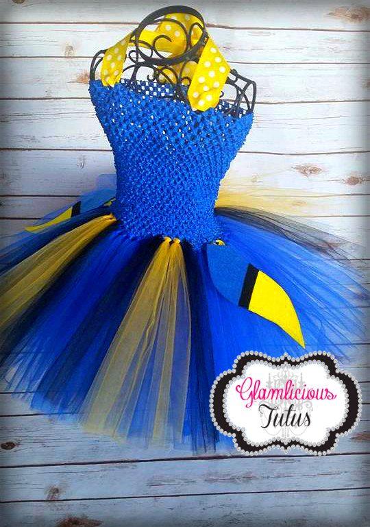 Dori costume Fish tutu dress Fish costume by GlamliciousTutus