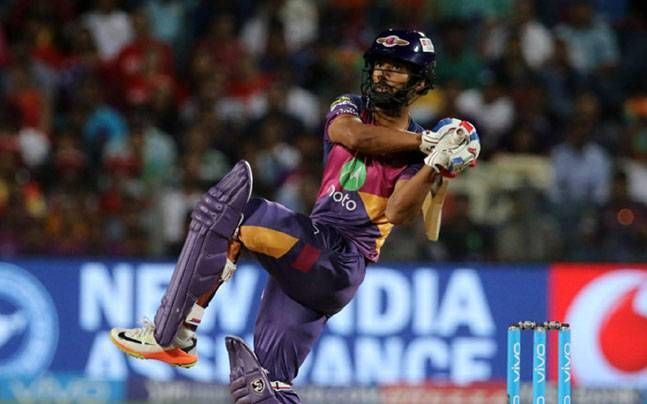 KKR v RPS, IPL 2017: Rahul Tripathi helps Pune catch up with Kolkata on points table