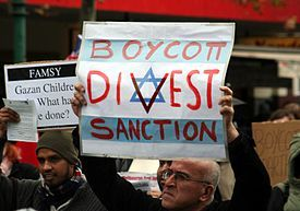 Boycott, Divestment and Sanctions against Israel.