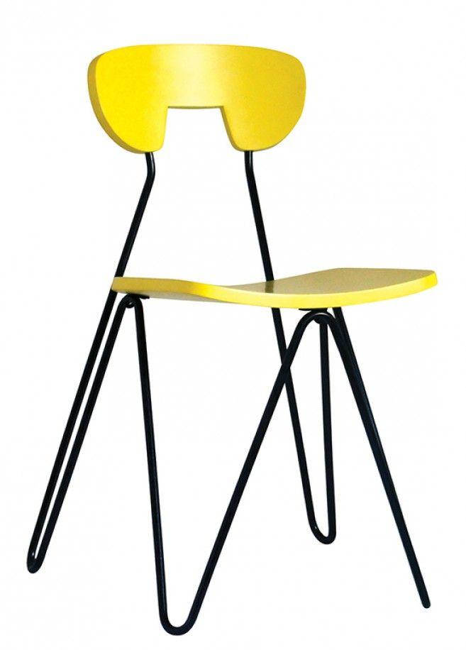 Silla W de César Jannello  Diseño Argentino
