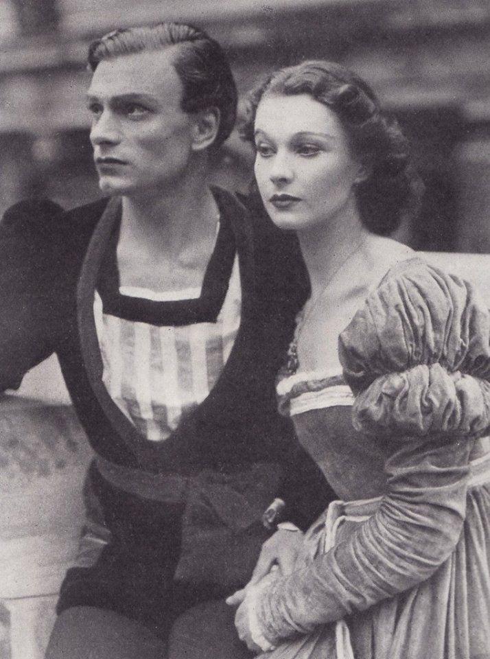 Vivien Leigh in Hamlet, 1937