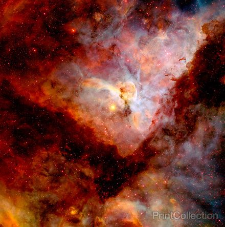Carina Nebula, NGC 3372. Credit: N. Smith (University of California, Berkeley)…