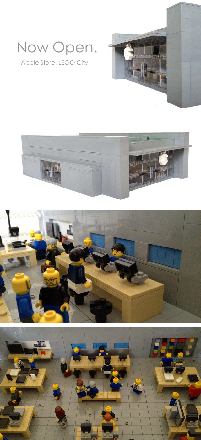 LEGO Apple Store @shelby spivey