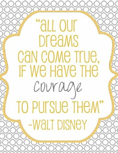 Positive thinking!: Sayings, Walt Disney, Disney Quotes, Waltdisney, Inspiration, Dreams, Favorite Quote, Courage