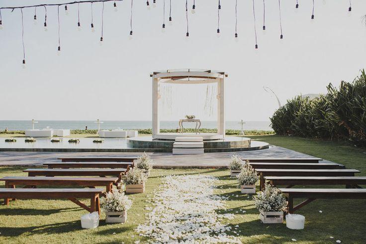 Wedding venue | This is incredible! Unique work by  ILUMINEN http://www.bridestory.com/iluminen/projects/natalia-audi-villa-wedding-phalosa-bali