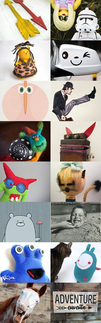 AWESOME!!!!!! FUNNY :) Dr. Seuss- Funny Things are Everywhere by avriellie on Etsy--Pinned+with+TreasuryPin.com