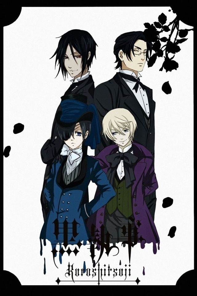 Ciel and Alois (from BLACK BUTLER (2)) Must read/watch because very funny and mysterious ^v^ oh! And sexy^^  (Background Info: actually black butler should be a yaoi manga but Yana toboso changet the genre, to sell it better)