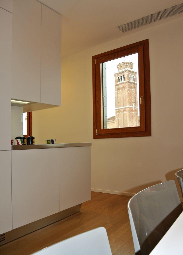 Cucina con vista #architettura #interni